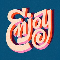 Mary Kate McDevitt is an illustrator and lettering artist based in Fishtown, Philadelphia, PA. Mary Kate specializes in hand drawn, colorful lettering packed with character and texture. Types Of Lettering, Lettering Design, Logo Design, Graphic Design, Design Art, Typography Quotes, Typography Letters, Cool Typography, Handwritten Typography