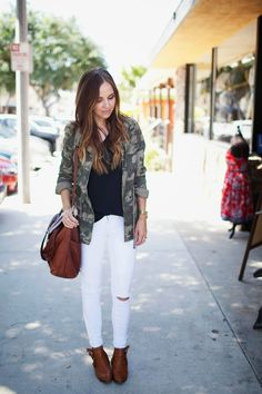 Merrick's Art // Style + Sewing for the Everyday Girl: 3 WAYS TO WEAR YOUR WHITE JEANS AFTER LABOR DAY