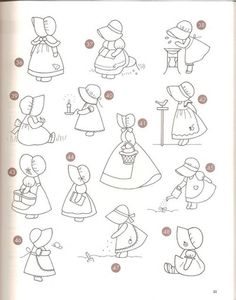 Sunbonnet sue - Patch - txatxa ma - Álbuns da web do Picasa