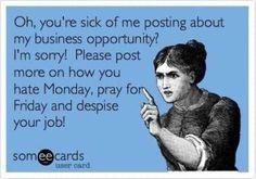 Love it :) don't miss the opportunity to LOVE your JOB!! http://WWW.lisasskincare@MYRANDF.BIZ