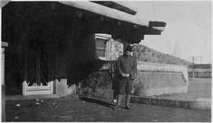 Historian Ralph E. Twitchell, Lamy, New Mexico :: Palace of the Governors Photo Archives Collection