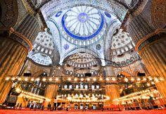 Sultanahmet Mosque a.a Blue Mosque, Istanbul Byzantine Architecture, Historical Architecture, Islamic Architecture, Sultan Ahmed Mosque, Ottoman, Visit Turkey, Blue Mosque, Hagia Sophia, Turkey Travel