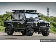 """Used """"RICH BRIT"""" EDITION – LAND ROVER DEFENDER 110 X... for sale - Classic & Sports Car (Ref Staffordshire)"""