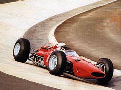 ferrari - john surtees - german grand prix - 1964
