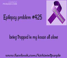 Epilepsy Problems / Epilepsy Awareness so true Epilepsy Facts, Epilepsy Quotes, Epilepsy Awareness Month, Epilepsy Seizure, Disability Awareness, Epilepsy Surgery, Seizures Non Epileptic, Seizure Disorder, Migraine