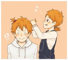 Shoyo nii-chan can't say no to Natsu.