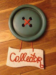 button collector sign