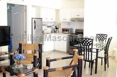 FM Boca Chica Apartments Boca Chica Offering a year-round outdoor pool and barbecue, FM Boca Chica Apartments is located in Boca Chica in the Greater Santo Domingo Region. Santo Domingo is 27 km from the property. The accommodation features a seating area.