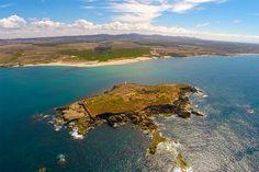 Pessegueiro Island aerial view - Porto Covo
