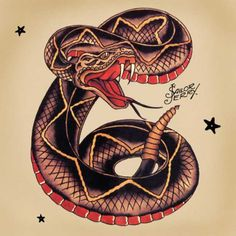 Details about Sailor Jerry poster Tattoo Vintage snake – Serpent tattoo Sailor Jerry Tattoo Flash, Sailor Tattoos, Old School Tattoo Sleeve, Timeless Tattoo, Tatto Old, Old School Tattoo Designs, Literary Tattoos, Snake Tattoo, Tattoo Small