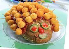 Αποτέλεσμα εικόνας για καναπεδακια για παιδικο παρτυ Finger Food Appetizers, Finger Foods, Appetizer Recipes, Cookbook Recipes, Cooking Recipes, The Kitchen Food Network, Kai, Party Buffet, Cooking With Kids
