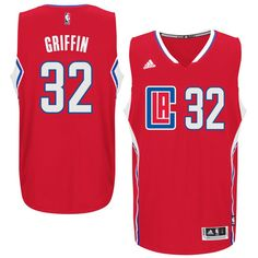 b2520e8dd Blake Griffin LA Clippers adidas Swingman climacool Jersey - Red