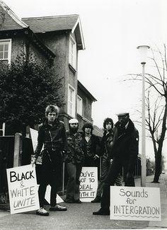 theunderestimator:  Paul Simonon & Mick Jones of The Clash,...