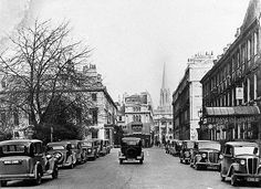Queen Square, Bath, c. 1937