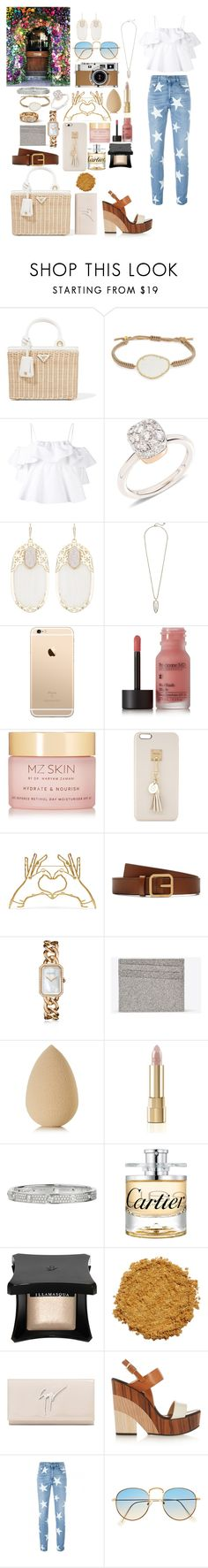 """Summer lovin"" by mylano ❤ liked on Polyvore featuring Prada, Tai, MSGM, Pomellato, Kendra Scott, Perricone MD, MZ Skin, Iphoria, Mulberry and Chanel"