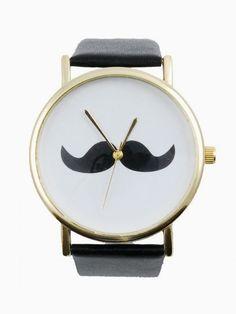 Moustache Time Watch