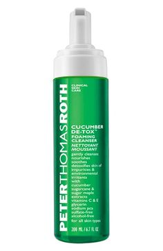 Peter Thomas Roth 'Cucumber De-tox™' Foaming Cleanser available at #Nordstrom