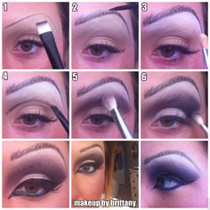 Double click for step by step instructions on how to cover brows and also how to create a new brow and crease shape! Great for full face paint, masks, halloween makeup and drag!