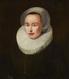 A portrait of a lady with ruff collar By Dutch School, 17th Century
