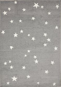 Richelieu Stars Gray Area Rug