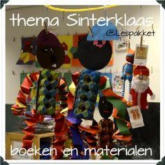 thema Sinterklaas - boeken en materialen - Lespakket