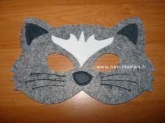 diy masque chat garcon