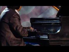 Lang Lang performing Tchaikovsky's Piano Concerto No.1 at National Memorial Day Concert