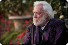 Donald Sutherland on why he hopes Catching Fire will make you think