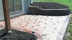 clay paver patio - Mechaley Landscaping