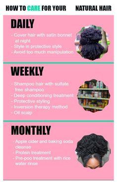 Natural Hair Growth Tips, How To Grow Natural Hair, Natural Hair Tips, Natural Hair Journey, Natural Oils, How To Grow Hair, Natural Beauty, Natural Hair Tutorials, Hair Growing Tips