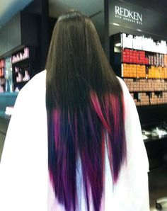 dip dye perfect for the summer