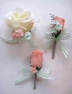 Free Shipping 17 pcs Wedding Bouquet Bridal Silk by Rosesanddreams