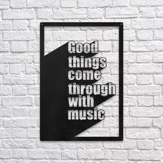 Good Things - Metal Wall Decor
