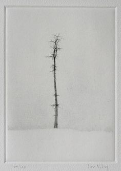 Solitaire Technique: Dry-point Printer: Lars Nyberg: