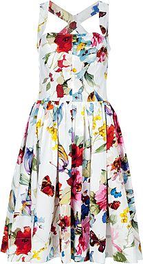 DOLCE & GABBANA printed dress.