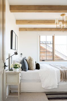 Future Home Interior SM Ranch House: Guest Bedrooms Home Decor Kitchen, Home Decor Bedroom, Modern Bedroom, Bedroom Ideas, Contemporary Bedroom, Bedroom Inspiration, Bedroom Beach, Bedroom Signs, Bedroom Plants
