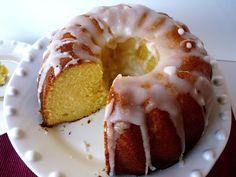 La cocina de Piescu: Bundt cake de limón y buttermilk