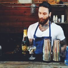 Soooo ... @duetpr knows how to throw a happy hour. Hot tattooed bartender & bubbly? You know where to find me ✌ #DuetHappyHour #