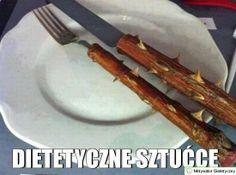 dietetyczne sztućce :)
