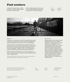 Find nowhere on the Behance Network