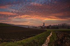 Sky over the church by Peter Zajfrid, via 500px