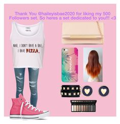 """""""Thank You @haileyisbae2020!! <3"""" by weirdlikethat ❤ liked on Polyvore featuring Yves Saint Laurent, Converse, Casetify, ALDO, Valentino and Brooks Brothers"""