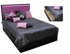 PURPLE: LEDA Fresh Purple Headboard 55240