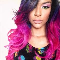 Pink ombre.....xoxo