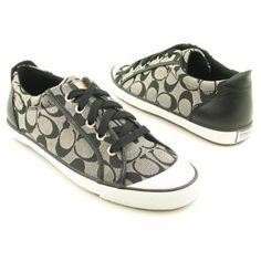 Amazon.com: COACH Barrett Signature Jacquard Leather Fashion Sneaker Womens Shoes: Shoes