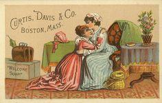 FREE ViNTaGE DiGiTaL STaMPS**: Free Vintage Printable - Ephemera Ad