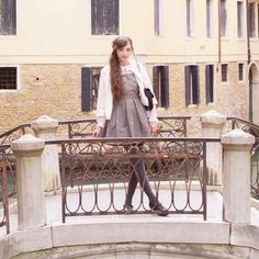 Venice bridge  I loved my holiday so much I hope I can return to Venice one day!! #beckiitravels #venice #ootd