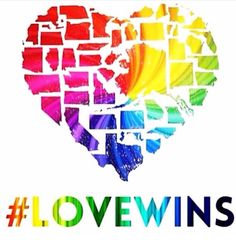 Gay rights in the United States!!! Love won!! #Lovewins #LegalizedLove You all have no idea how happy I am!