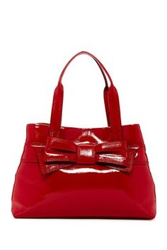 Claverly Maryanne Patent Leather Satchel