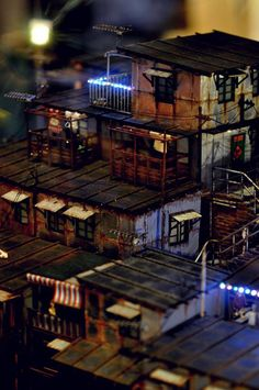 From an exhibition of miniature cityscapes in Hong Kong